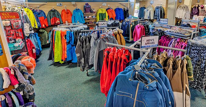 ski jacket racks