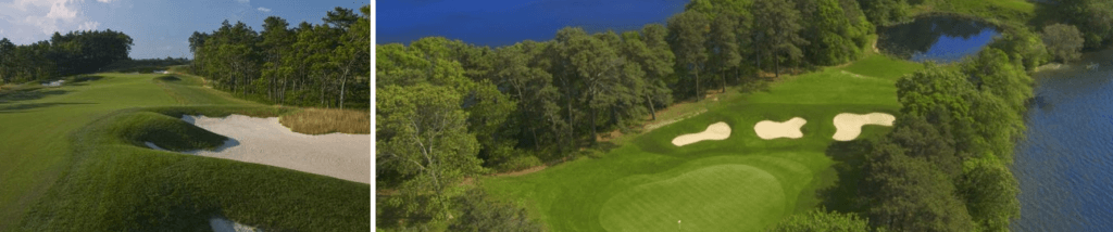 Birds eye view of the Cape Cod Country Club course