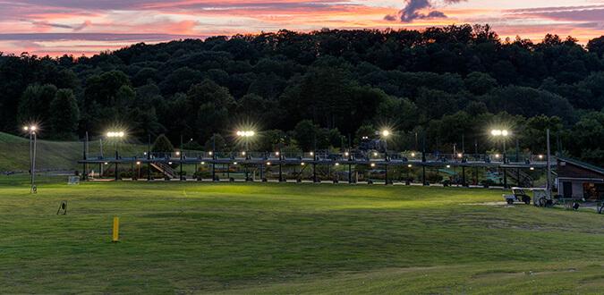 Driving range at Fore-U Golfing Center