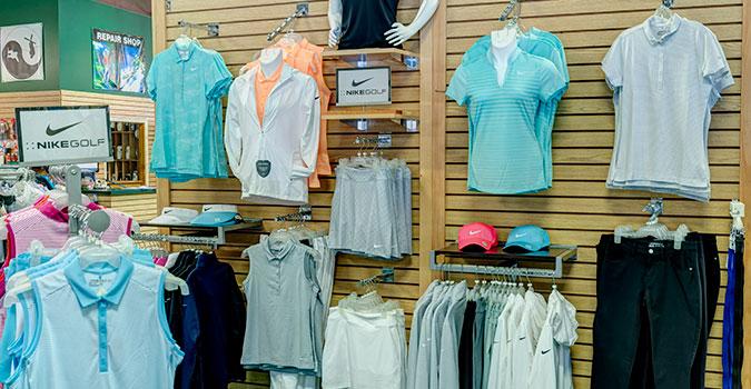 Summer golf apparel at Greenland