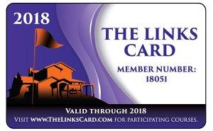 The Links Card sample card