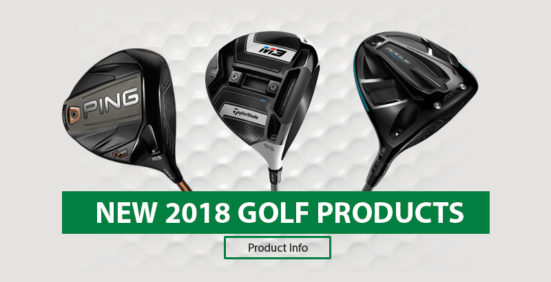 New 2018 Golf Products