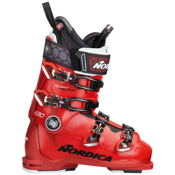 Red Nordica Speed Machine 130 ski boot