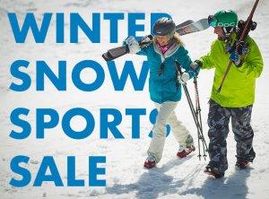 Winter Snow Sports Sale
