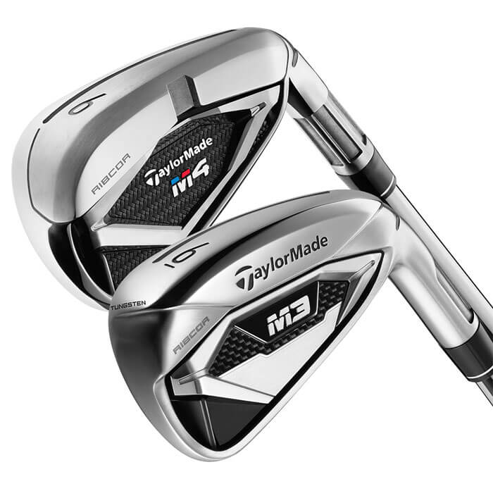 TaylorMade M3 and M4 iron heads