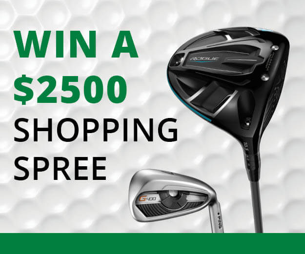Register to win a $2500 shopping spree