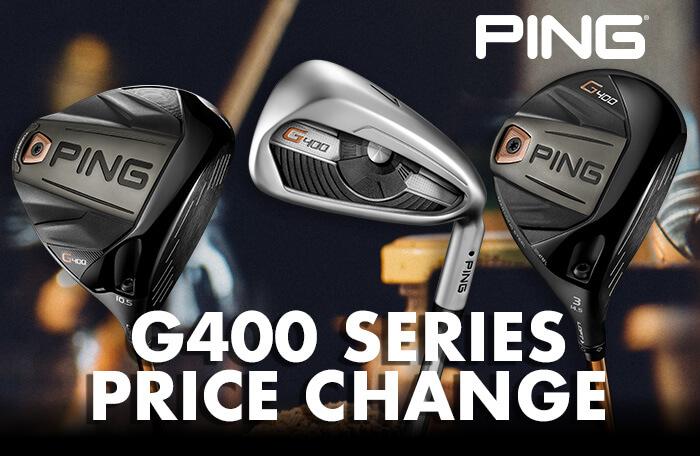 Ping G400 series price change