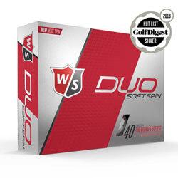 Wilson duo golf balls