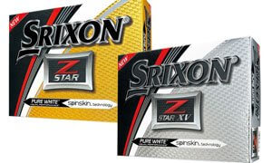 Srixon Star golf balls