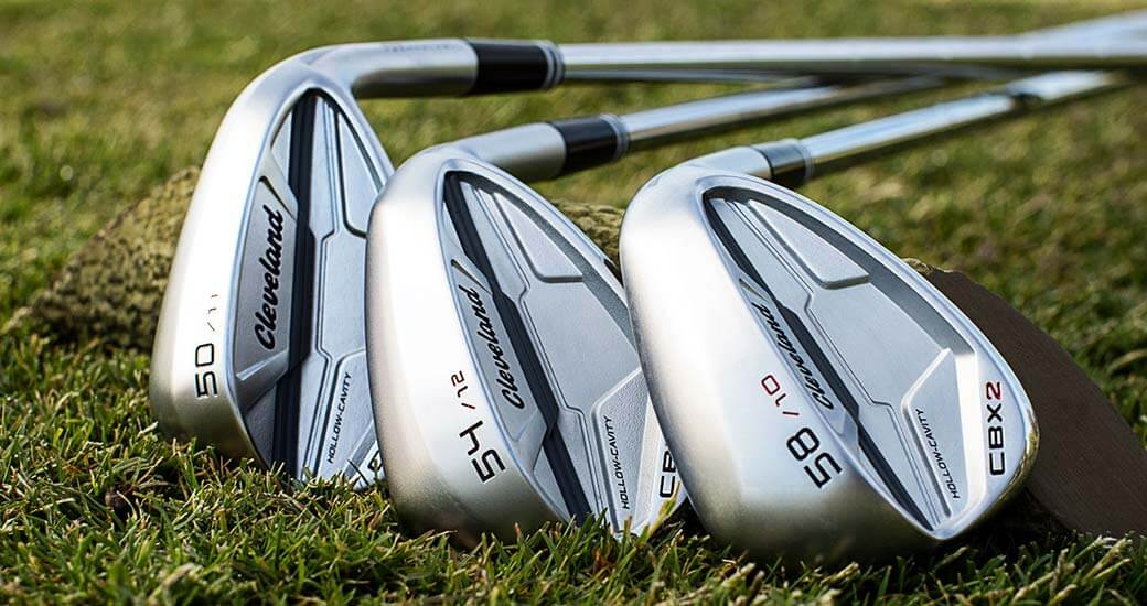 Cleveland CBX2 Wedges laying on grass